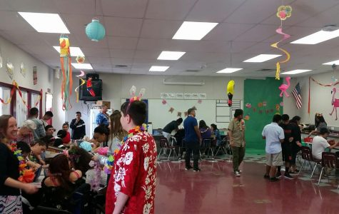 Luau Party And A Homecoming