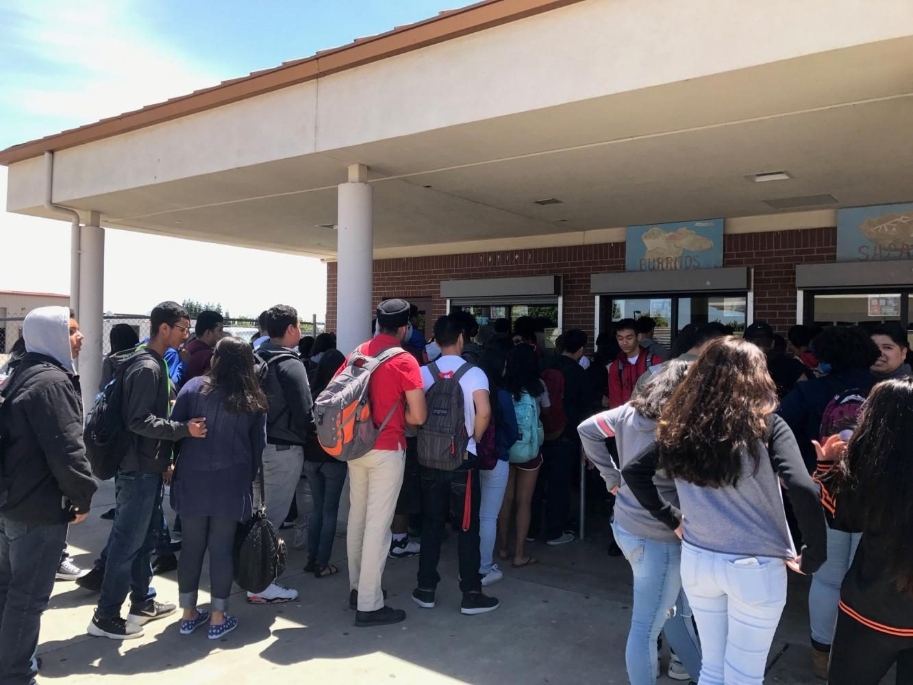 Students Can't Afford To Miss Lunch
