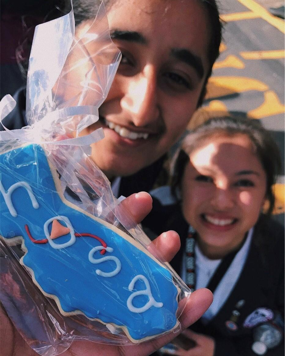 Weston Ranch HOSA members Supreet Sandhu and Lily Ortiz have been part of the club's success.