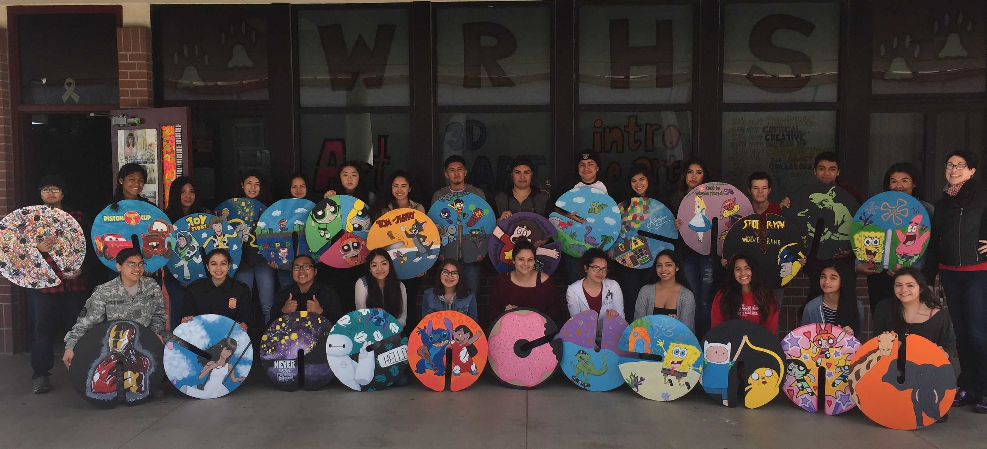 Weston Ranch art class creates project for children in an area hospital.