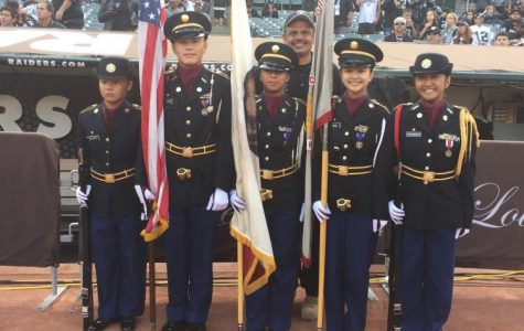 Weston Ranch Presents Red, White & Blue For The Silver & Black