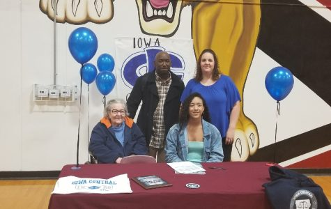 Finley Focused on Future at Iowa Central