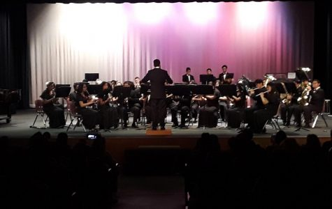 Winter Band & Orchestra Play In Concert