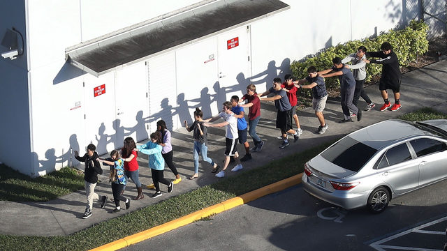 Students March, Use Social Media To Combat School Shootings