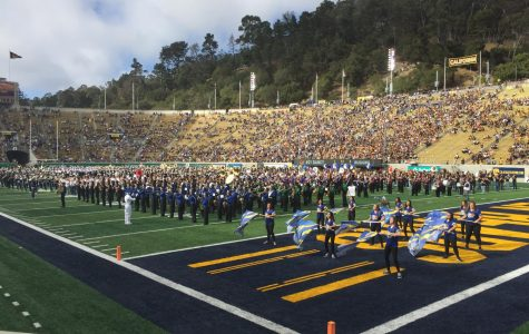 Marching Band Performs at Berkeley