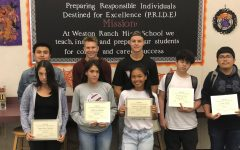 WRHS Honors September Students of the Month