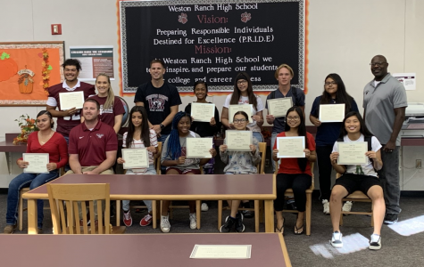 WRHS Honors Students of the Month