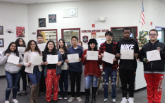 WRHS Honors November Students of the Month