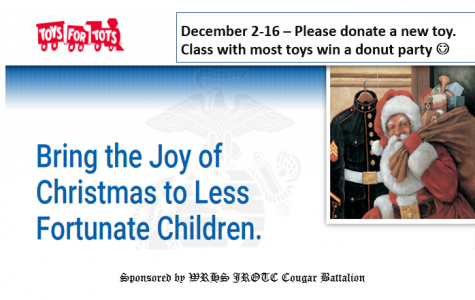 JROTC Helps Share Toys with Tots