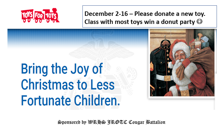 JROTC+Helps+Share+Toys+with+Tots