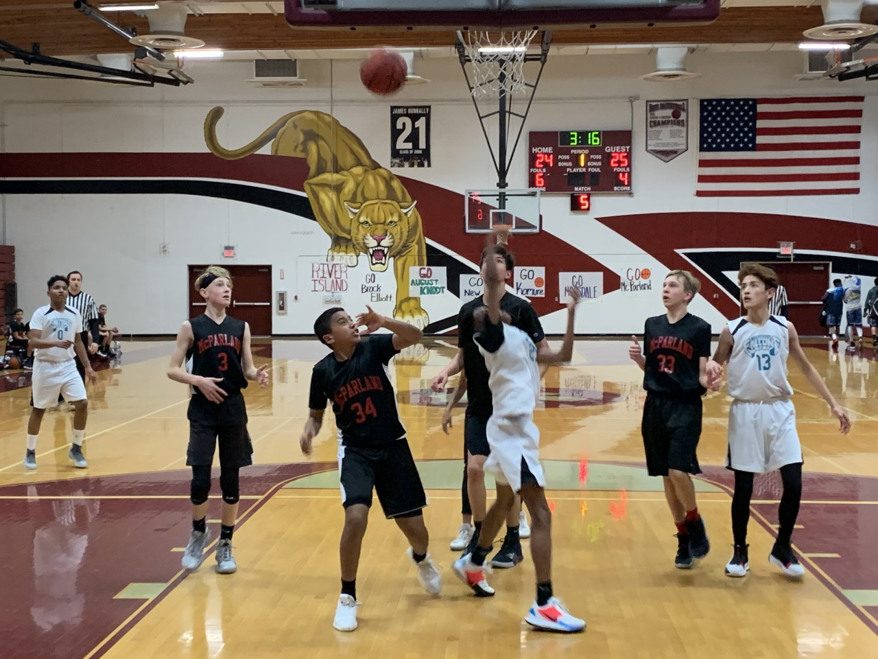 Weston Ranch Hosts Middle School Basketball Tournament