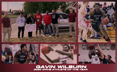 Gavin Wilburn Named Athlete of the Year