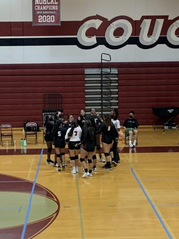 GIRLS VOLLEYBALL:  Cougars Put Scare into Oakdale
