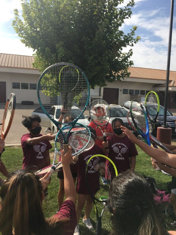 GIRLS TENNIS:  Cougars Take Two from Kimball and East Union